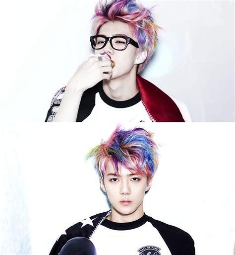 model rambut exo 12 foto exo sehun idol k pop yang jadi pria termodis di