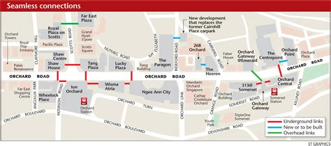orchard mall map more links to bridge orchard rd malls singapore news asiaone