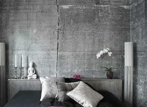 cement home decor ideas modern wallpaper patterns creating realistic concrete wall
