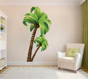 palm tree wall mural decal large wall decal murals 1000 images about wall paintings on pinterest wall