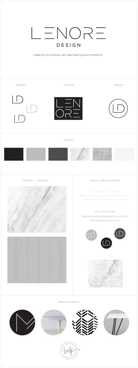 Brand Launch Lenore Interior Design Salted Ink Design Co Interior Design Brand