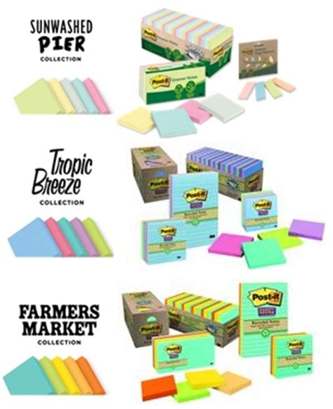 Sustainable Giveaways - sustainable post it note color collections review giveaway ends 5 14