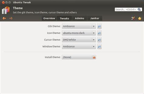 theme creator ubuntu install precise tweak new ubuntu tweak in ubuntu 12 04