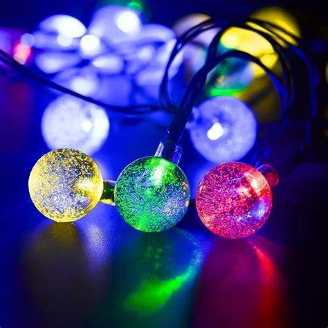 luces led decoracion luces led solar para fiestas decoraci 243 n de jard 237 n