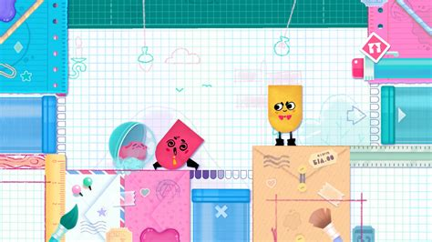 Kaset Switch Snipperclips Plus Cut It Out Together nintendo switch snipperclips plus cut it out together
