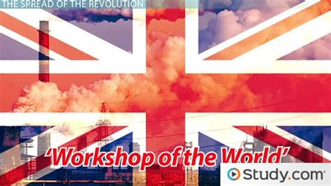 industrial revolution   growth impact video lesson transcript studycom
