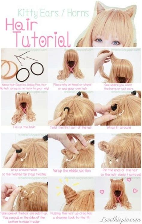 Diy Anime Hairstyles | 10 diy hairstyles and tutorials