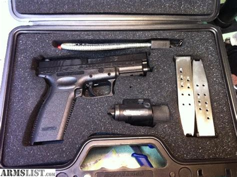 armslist for sale springfield xd 45 with tactical light