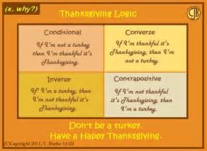 thanksgiving math jokes x why thanksgiving logic