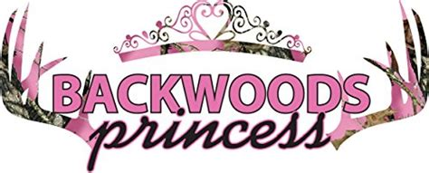 Wall Phrases Stickers backwoods princess country girl vinyl wall decals quotes