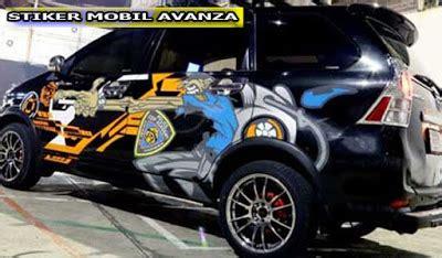 Jual Lu Variasi Avanza toko variasi jual stiker mobil avanza di