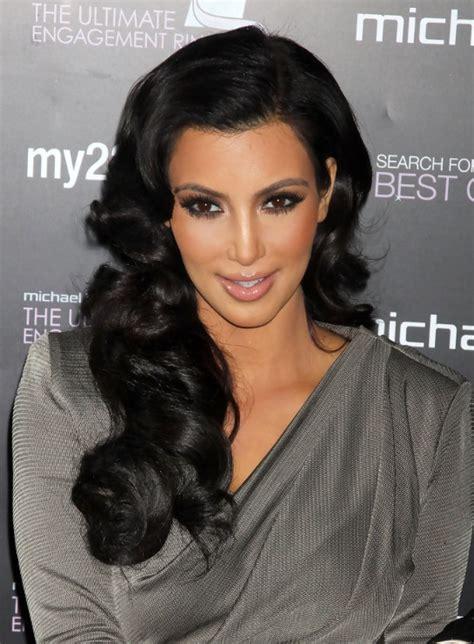 hairstyles for long hair kim kardashian kim kardashian long black hairstyle for summer