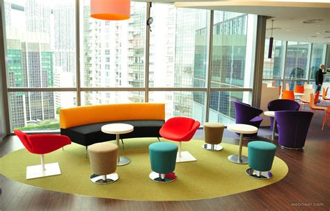 colorful pixar office designs iroonie com modern office design colorful reception 2