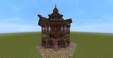 English Tudor Homes by Minecraft Old England Style Corner House Tutorial Youtube