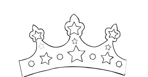 mewarnai gambar mahkota putri raja contoh anak paud