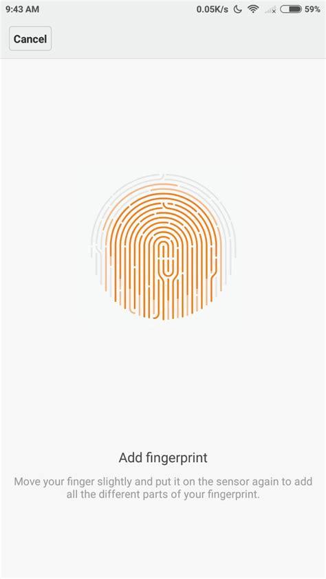 Fingerprint Xiaomi Redmi 4 How To Add Fingerprint In Xiaomi Redmi Note 4 Android Hits