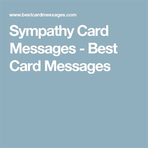 best card messages 17 best ideas about sympathy card messages on