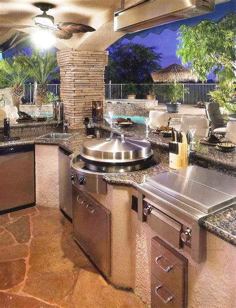 backyard rotisserie 70 awesomely clever ideas for outdoor kitchen designs