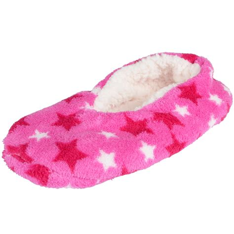 ballet slipper fabric ballerina slippers cosy soft fabric chunky fleece