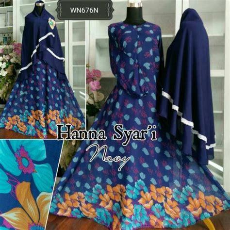 Baju Muslim Syari Hana baju muslim cantik syar i