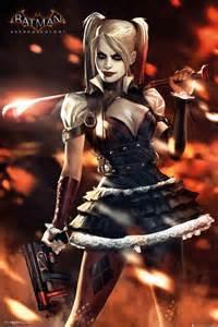 Next Doormat Batman Arkham Knight Harley Quinn Poster Sold At