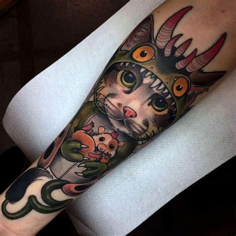 inkfamous tattoo 150 best animal images on cat tat