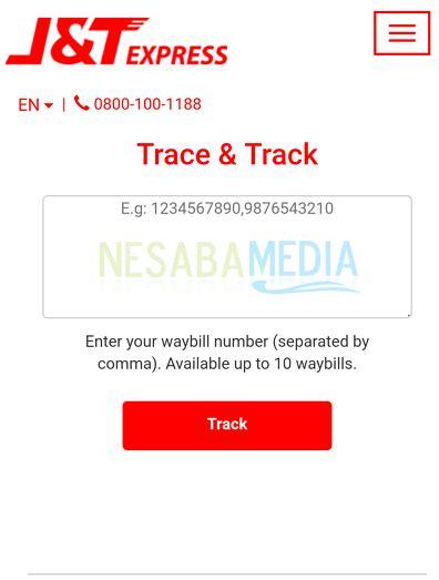 cek resi barang j t cara cek nomor resi j t express dengan cepet terbaru 2018