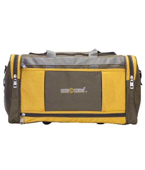 Checkers Bag checkers green luggage bag buy checkers green luggage