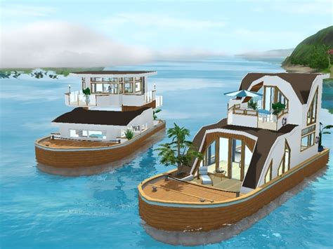 sims 3 house boats image gallery sims 3 houseboats