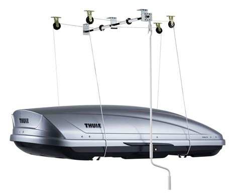ceiling mount storage thule multilift cargo lift and storage system ceiling