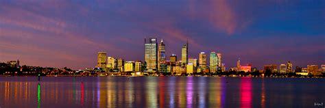 Perth City Lights Western Australia Open Edition Perth City Lights