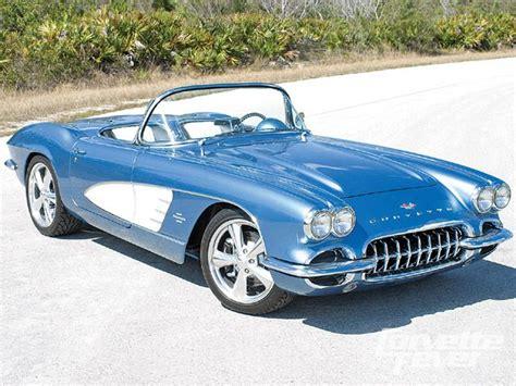 automobile air conditioning service 1961 chevrolet corvette interior lighting 1961 chevrolet corvette lt5 powered c1 roadster restomod corvette fever magazine