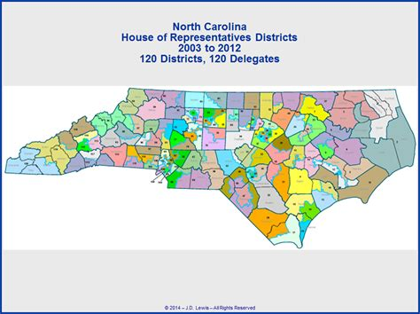 nc house of representatives north carolina state house of representatives districts map 2003 to 2012