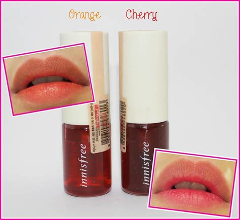 Innisfree Eco Fruit Lip Tint tint bấm peripera cushion tint shopdep24h