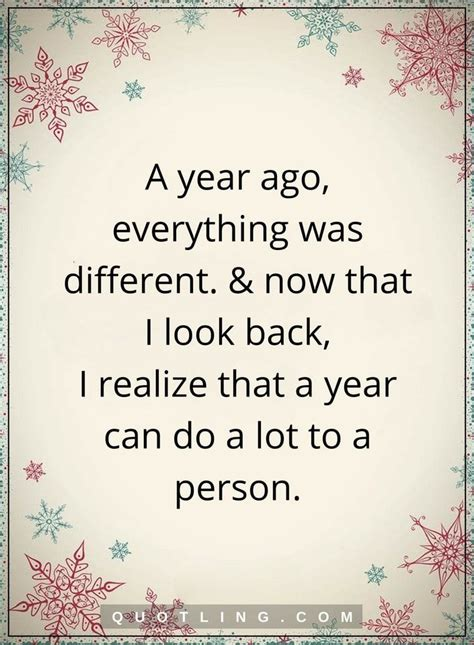year quotes  year            realize