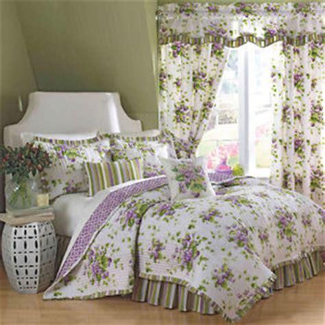 Waverly Sweet Violets Quilt Set by Waverly Sweet Violets 4 King Quilt Set Brand New Ebay