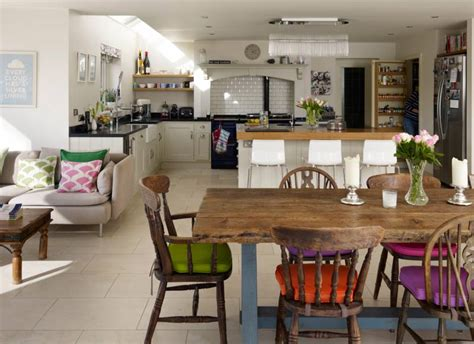 country kitchen diner ideas open up with space enhancing ideas for kitchen extensions