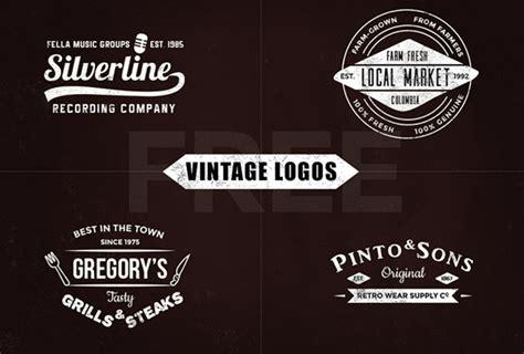 vintage logo design photoshop 30 free vintage logo templates in psd eps format 2017
