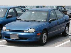 2003 Dodge Neon SRT-4 - Sedan 2.4L Turbo Manual 2003 Dodge Neon Sxt Turbo