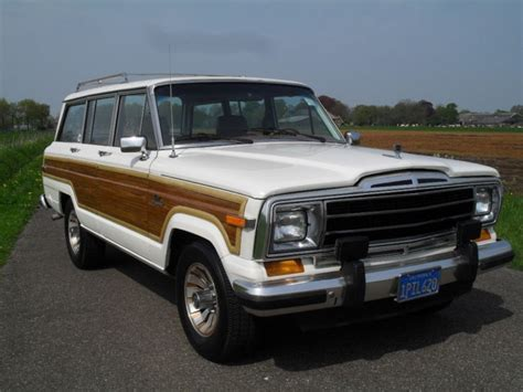 1986 Jeep Grand 55 Best Images About Grand Wagoneer On Jeep