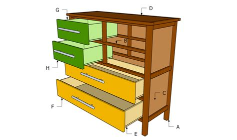 Build A Dresser by How To Build A Dresser Howtospecialist How To Build