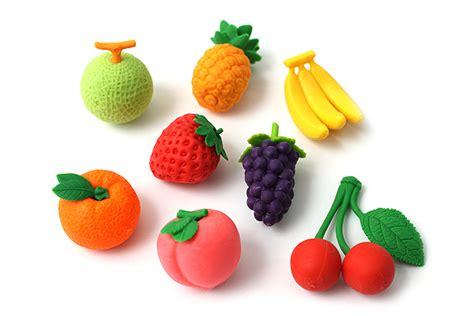 fruit erasers iwako fruit novelty eraser 8 set jetpens