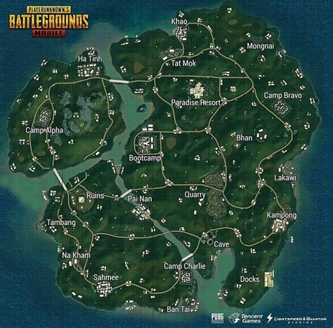 maps for mobile the new sanhok map comes to pubg mobile for android