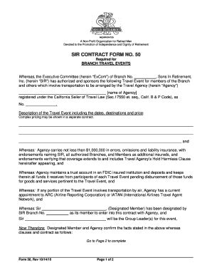 travel agency agreement template sle of travel agency agreement contract to in