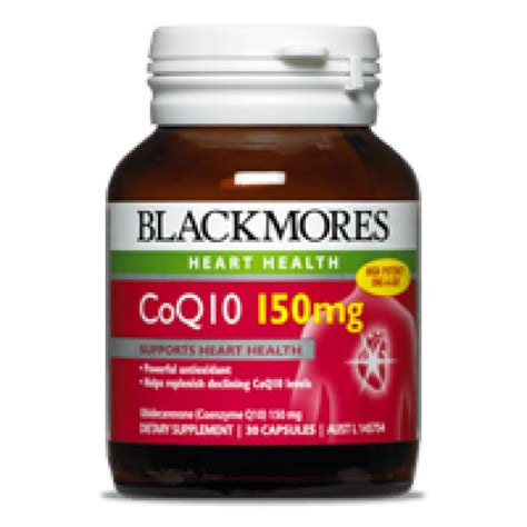 Blackmores Brain Active 30 Caps blackmores coq10 150mg 30 cap