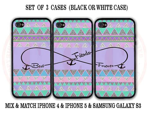 Friends Cases Transforms Your Ipod In To A Stuffed Animal purple mint aztec bff best friends 3 cases for