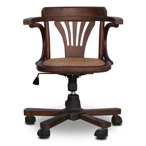 rattan swivel desk vintage rattan wicker swivel desk oak interior designs