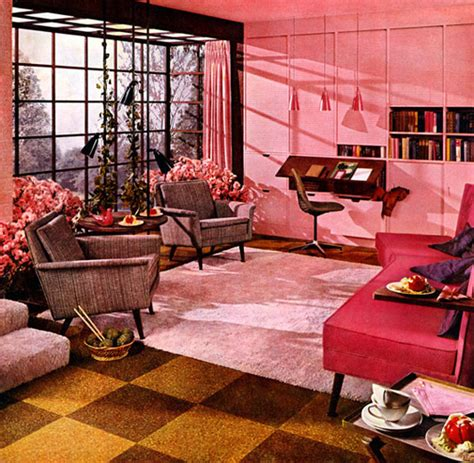 plan59 retro 1940s 1950s decor furniture excelon 1956