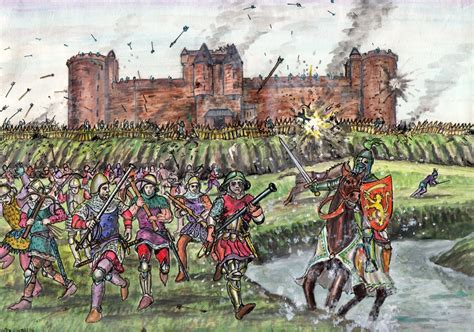 siege of siege of tantallon castle 1491