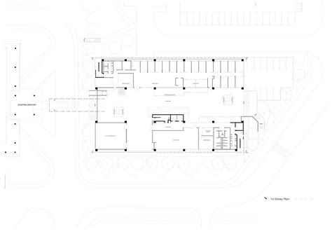 Nab Floor Plan by Gallery Of New Administration Building At Institute Of